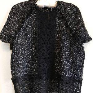 Zara Tweed Crop Top